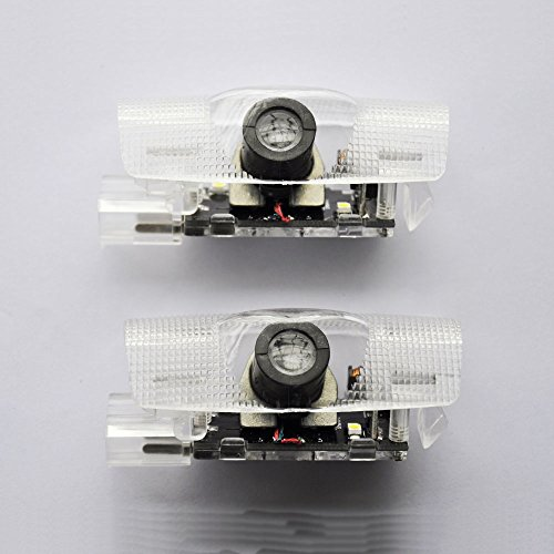 CCQAP Easy Installation Car Door LED Logo Projector Ghost Shadow Lights for Toyota 12V 2pc