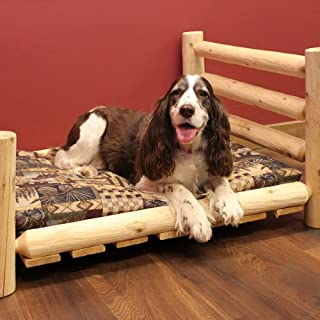 product image for Cedar Lodge Dog Bed w/ Horizontal Rails