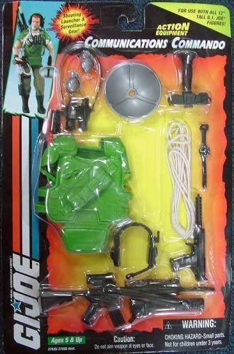 Amazon.com: GI Joe Communications Commando: Toys & Games