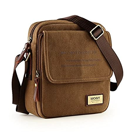 222bb1138e Genric Small Black white   Brand Men Classic Canvas Messenger Bag Business  Man Bag College Students Satchels Teenagers Boys Shoulder Bags Leisure  Briefcase  ...