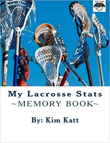 Book My Lacrosse Stats (My Sports Stats)