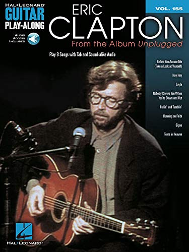 Eric Clapton - From the Album Unplugged: Guitar Play-Along Volume 155 ()