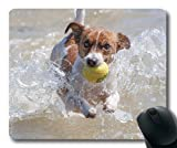 Gaming Puppy Dog Mouse pad,Dog Action Racing Jack Russell Water Tennis,Dogs Mouse mat
