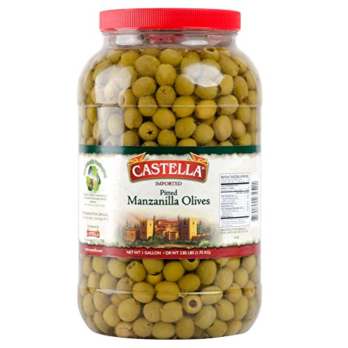 (TableTop King Manzanilla Pitted Olives - 1 Gallon)