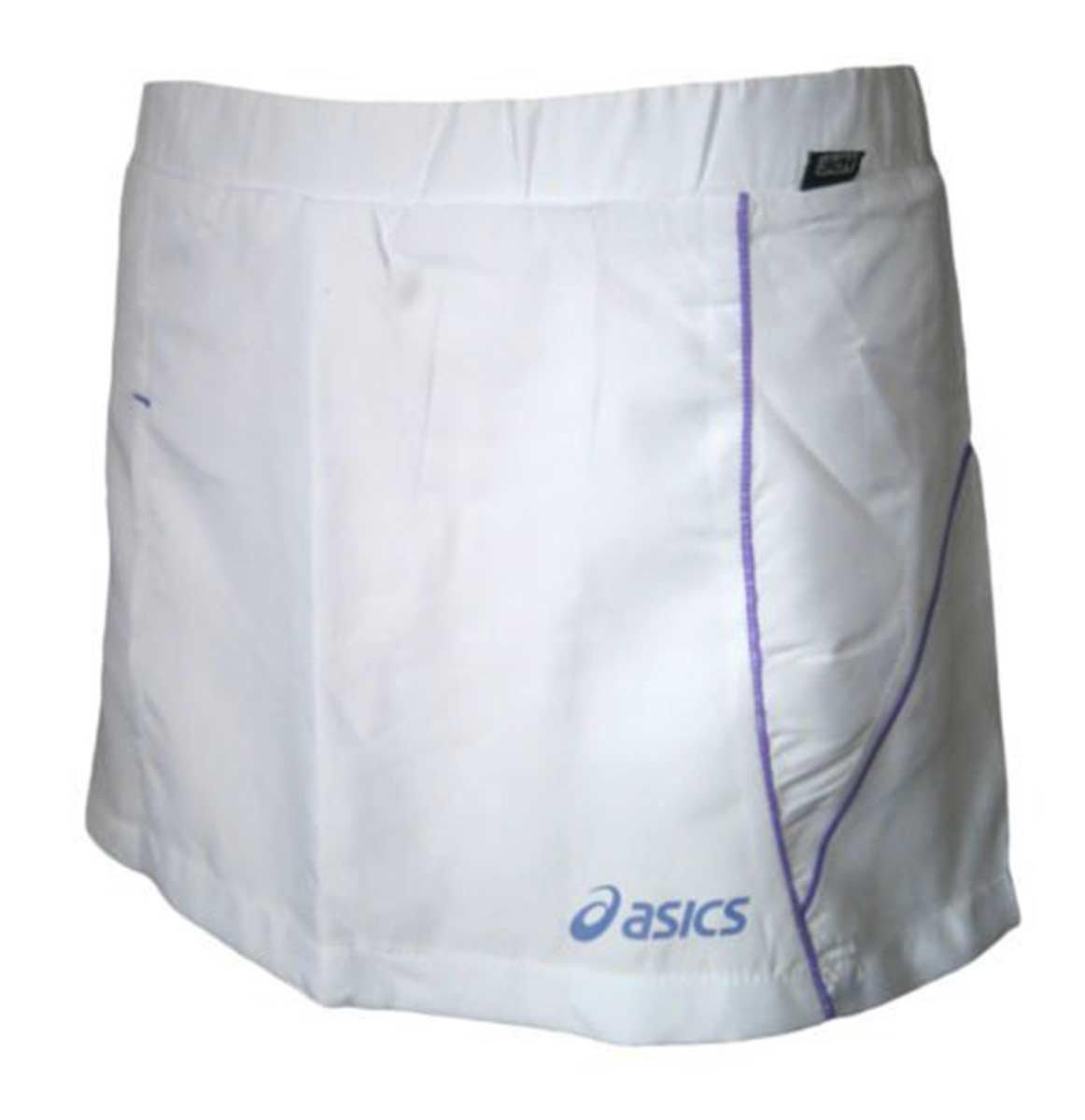 ASICS Raqueta DE Tenis PANTALÓN/Falda Blanca, Color Blanco ...