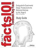 Studyguide for Experimental Design, Cram101 Textbook Reviews Staff, 149024560X