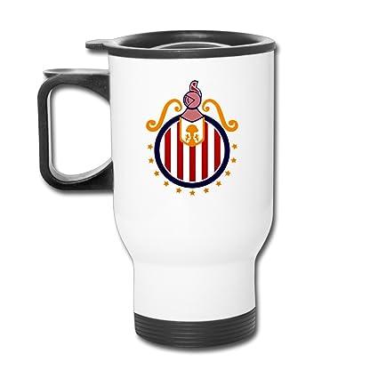 62bd16cadcb Amazon.com: Chivas CD Guadalajara Coffee Mug, Coffee Travel Mug ...