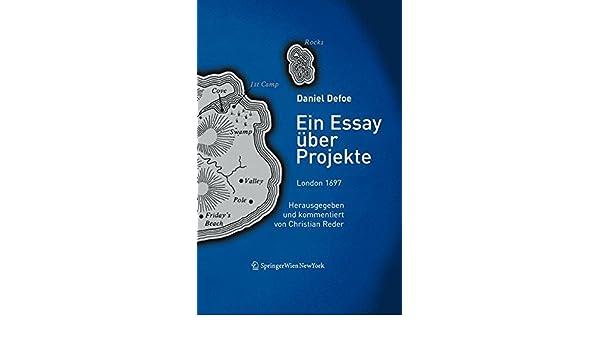 daniel defoe essay über projekte