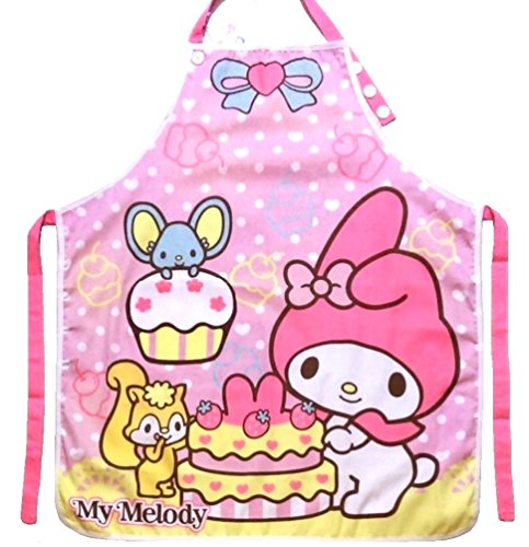Sanrio Fabric - My Melody Kitchen Gardening Adjustable Adult Cotton Apron with Pocket