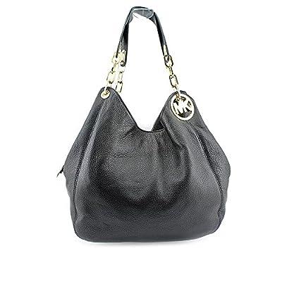 Michael Kors Fulton Large Leather Shoulder Bag