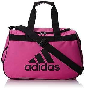 adidas Diablo Duffel Bag,18.5 x 11 x 10-Inch,Intense Pink/Black