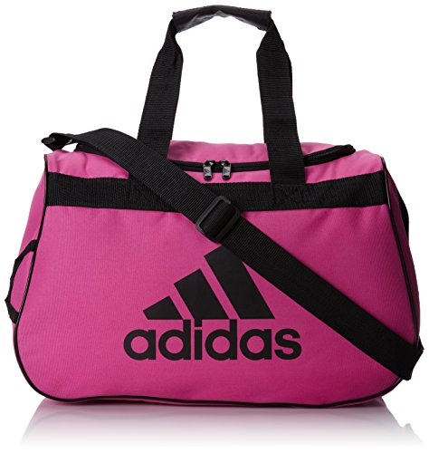 Soccer Gym Bag - adidas Diablo Duffel Bag, INTENSE PINK/BLACK, One Size