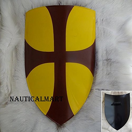 NAUTICALMART Medieval Crusader Knight Battle Shield Perfect for Re-Enactment