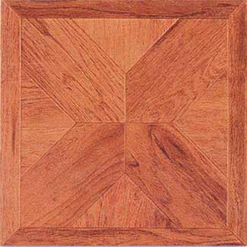 Dynamix Vinyl Tile - Home Dynamix 1001 Dynamix Vinyl Tile, 12 by 12-Inch, Woodtone, Box of 20