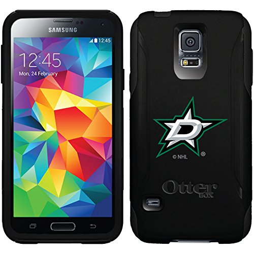 (Coveroo Commuter Series Cell Phone Case for Samsung Galaxy S5 - Retail Packaging - Dallas Stars Primary Logo)