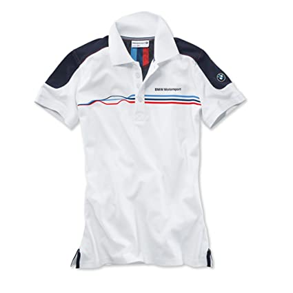 11e8620bfbff Amazon.com  BMW Motorsport polo shirt - white team blue - ladies  x ...
