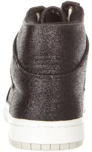 Steve Madden Vrouwen Shufle Fashion Sneaker Zwart Glitter