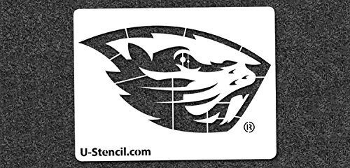 NCAA Oregon State Beavers 04888 Mini Stencil Craft Kit 11 x 14.5 inches by U-Stencil