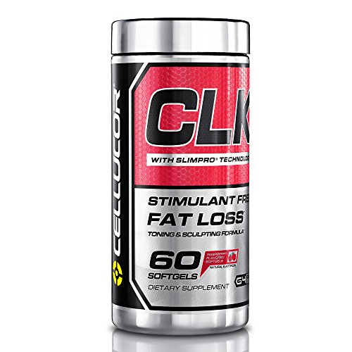 Cellucor CLK Stimulant Free Fat Loss Toning and Sculpting Formula, 60 Softgels