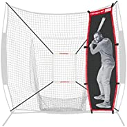 PowerNet Andrelton Simmons Stand-in Batter | Improve Pitching Accuracy for Baseball Softball | Safely Train Th