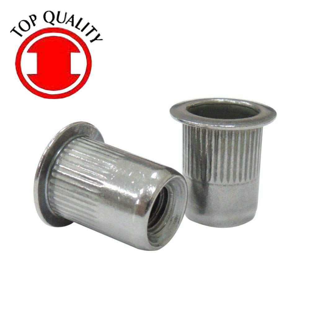 Stainless Steel Rivet Nut Rivnut Insert Nutsert - M6X1.0 (TSBS610) 20pcs by IM Vera