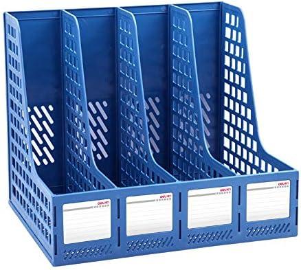 Datei Racks Großer verdickter Vierfach-Datenrahmen-Datei-Dateihalter Datei-Halter-Desktop