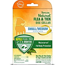 TropiClean Flea and Tick Repellent Collar for Small Dogs