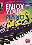 Enjoy your Piano: Mittelleichte, fantasievolle Klavierstücke zum Vorspielen (inkl. Download). Spielbuch für Klavier. Liederbuch. Songbook. Musiknoten.