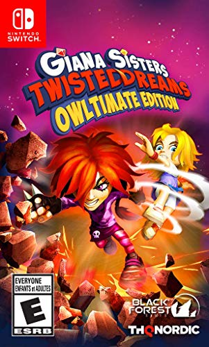 Giana Sisters: Twisted Dreams – Owltimate Edition – Nintendo Switch
