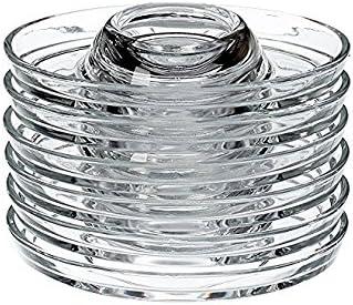 PASABAHCE 53382 coquetier ovale empilable en verre 6er Set