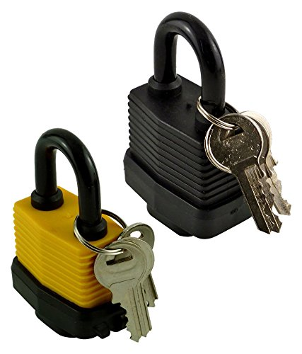 Pack Of 2 Heavy Duty Waterproof Padlock Ideal For Home