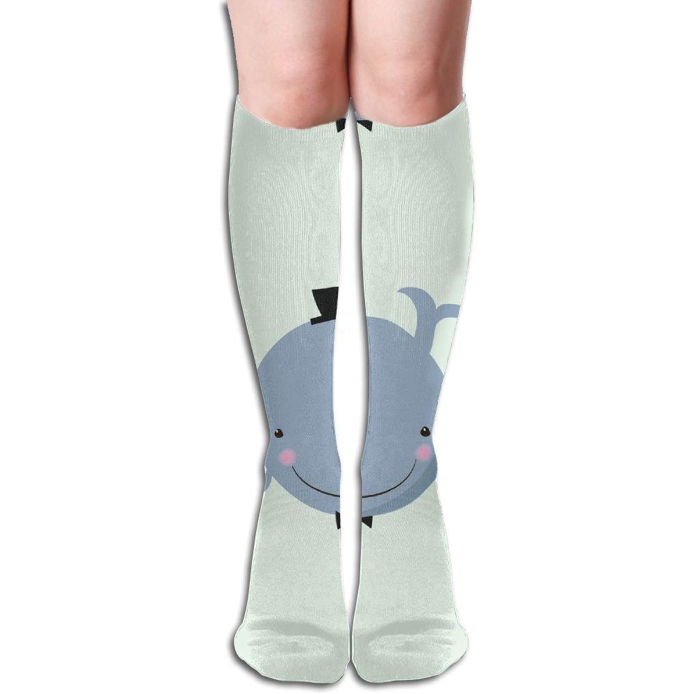 Sloth Big Girls//Women Cute 3D Pattern Knee High Socks Compression Socks