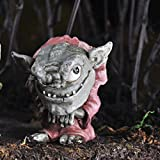 Fiddlehead Fairy Village Grif the Troll with Bonus Novelty Fairies Bill and 3″ Round Decal For Sale