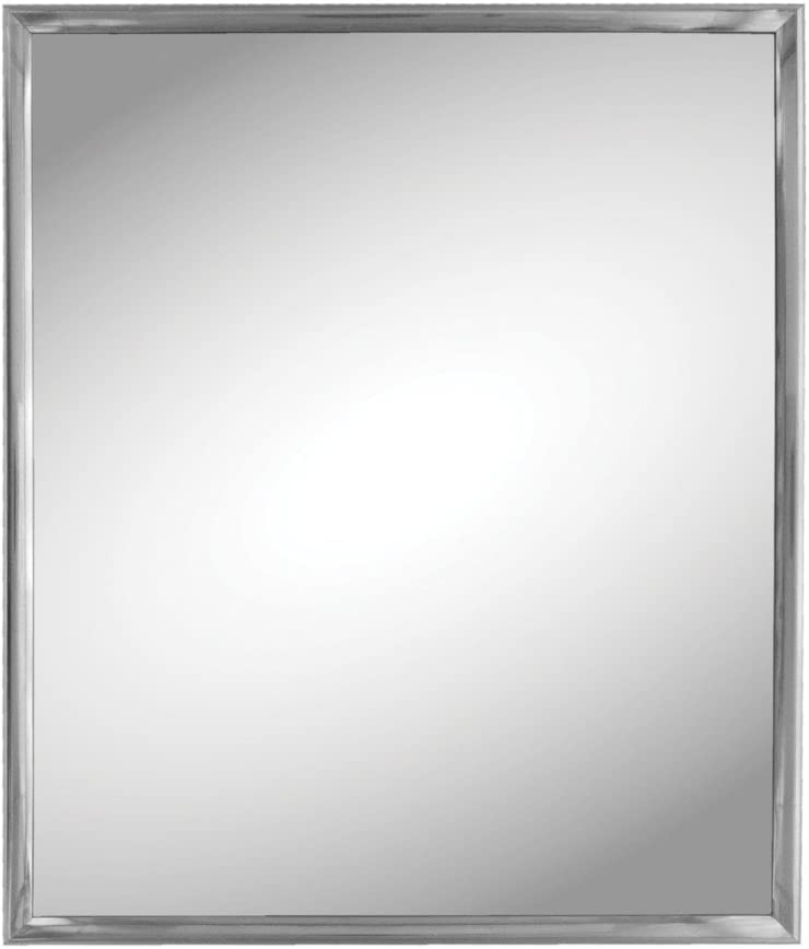 Kole Imports Silver Trim Wall Mirror