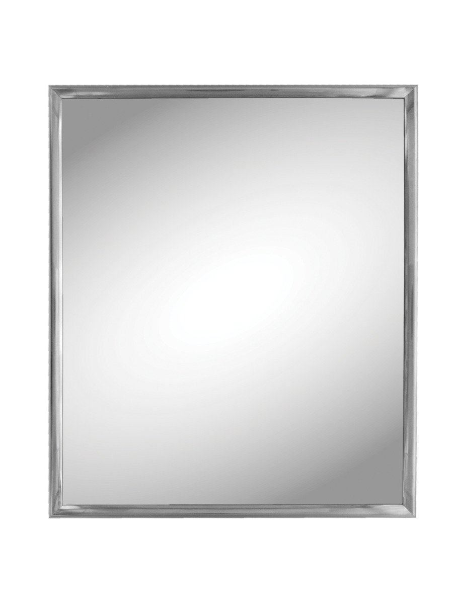 Kole Import StealStreet SS-KI-OC539 Silver Trim Wall Mirror