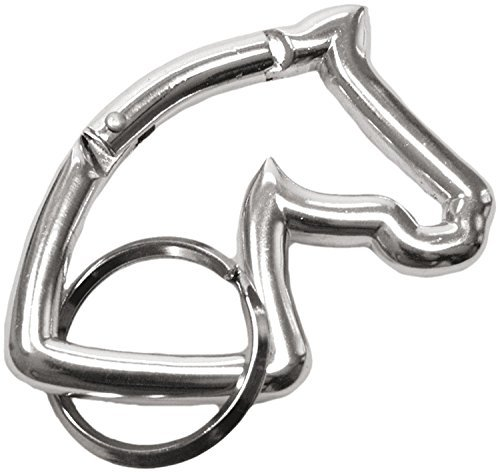EKKIA (Ekia) 4044879307941 Riding Equipment Horse Head SNAP Hook Silver 901030794, oner Size Other ()
