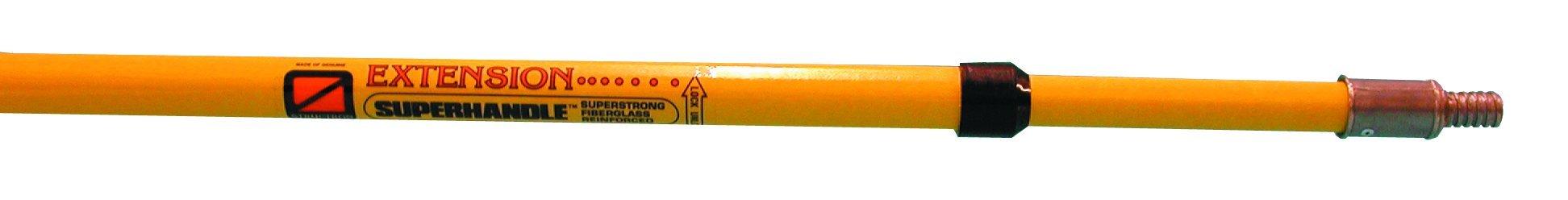 Magnolia Brush Cam-Loc 48 Heavy Duty Aluminum Alloy Cam-Loc with Fiberglass Extension Handle, 4' - 8' Length (Case of 6) by Magnolia Brush