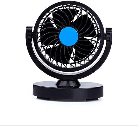 UIEJHN Ventilador Oscilante Portátil 4W Ventilador Refrigeración ...