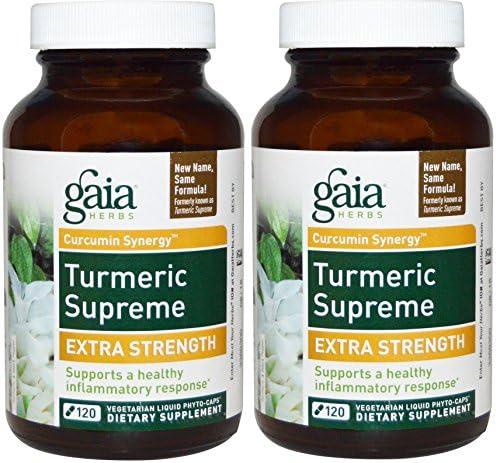 Gaia Herbs Turmeric Supreme Strength