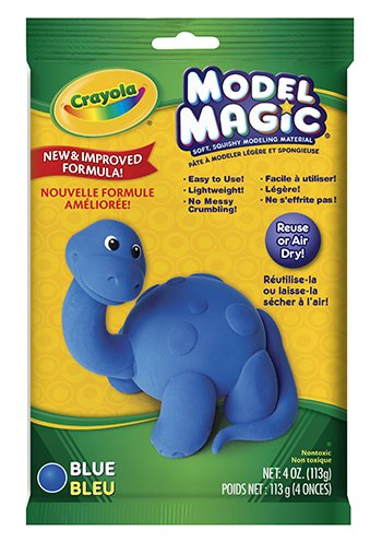16 Pack CRAYOLA LLC FORMERLY BINNEY & SMITH MODEL MAGIC 4OZ BLUE by Crayola