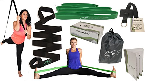 All new Flexx Band combination; Leg Stretcher with Door stop, and Stretchband from 100% Latex, the perfect starter pack. Take your body to the next level of exercise, the ultimate in portable training Review