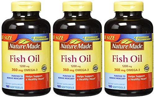 031604017149 - Nature Made Fish Oil Omega-3 1200mg, (180 Liquid Soft Gels) carousel main 1