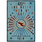 422nd Quidditch World Cup Poster 13 x 19in with Poster Hanger