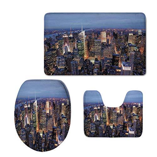Fashion 3D Baseball Printed,New York,Aerial View of NYC
