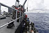 Home Comforts Comoros Sailors participate in an Exercise Cutlass Express 2017 visit, board, search and seizure tr