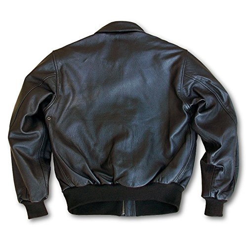 b97bac37274 US Wings Brown Goatskin A-2 Leather Bomber Jacket at Amazon Men s Clothing  store