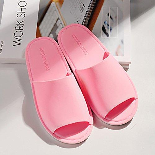 Solid Slipper ShiyiUP Pink Color Sandals Non Unisex Bathroom slip xR7wvzf7
