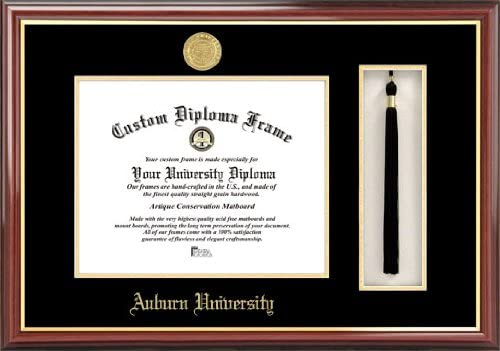 Amazon Com Campus Images Al992pmhgt Auburn University Tassel Box And Diploma Frame 13 X 17 Multi Home Kitchen