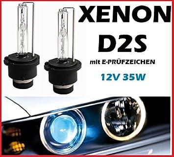 2 x Xenon Brenner D2S Lampen Birnen E-Zulassung für Volvo V50 MW bis 2007