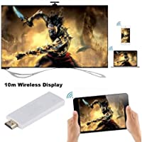 ANDROSET 1080P Miracast TV Dongle WIFI Display DLAN Airplay EZCast for IOS Android